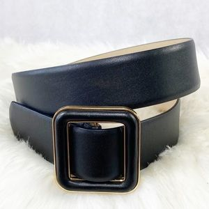 Ann Taylor Leather Belt Size Medium to Large